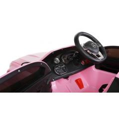 Mercedes C63 Pink 12 Volt electric child car with parental remote control