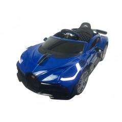 Bugatti Divo Bleu 12 Volts Voiture électrique Pour enfant avec télécommande parentale Bugatti DIVO/BLEU