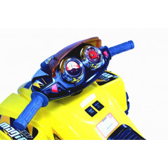 Electric Quad JS318 for children 12 Volts yellow