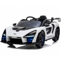 McLaren Senna Blanche 12 Volts Voiture électrique Pour enfant avec télécommande parentale Voitures électriques enfants SENNA/BL