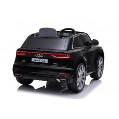 Audi Q8 Black 12 volt electric child car with remote control