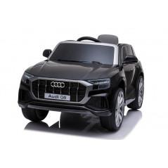 Audi Q8 Noir 12 volts voiture électrique enfant avec télécommande Accueil Q8/NOIR