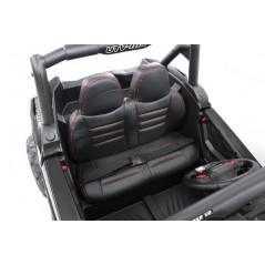 Jeep 4x4 Electrique pour Enfant 12 Volts Vert