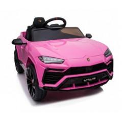 Lamborghini URUS Rose, Roues EVA,12 Volts Electrique pour enfant avec télécommande parentale Accueil URUS/ROSE
