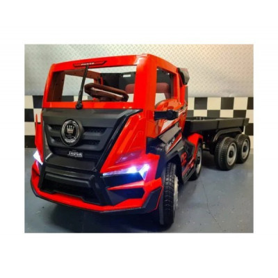 Camion avec remorque Electrique pour enfant 12 Volts Tracteurs électriques pour enfants  CAM12