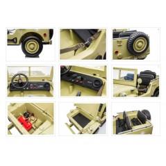 Mercedes ML350 12 Volts Blanche Voiture électrique pour enfant avec télécommande parentale
