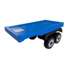 Remorque Bleu pour camion Electrique pour enfant Autres modèles Camions enfants