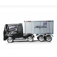 12 volt electric container truck for children, RC function