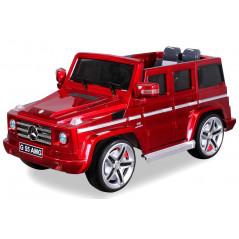 Mercedes AMG G55 Voiture électrique Pour enfant 12 Volts Rouge Métallisé Voitures électriques enfants PR001667002
