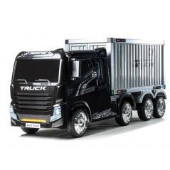 Camion container Electrique 12 volts pour enfant, fonction RC Accueil CAM/CONTAINER