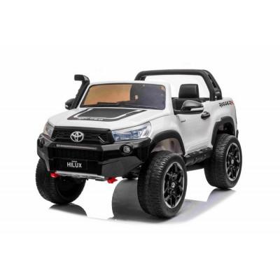 Toyota Hi-Lux Blanc 12 Volts Electrique pour Enfant avec télécommande parentale Accueil HILUX/B