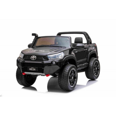 Toyota Hi-Lux Black 12 Volts Electric for Children with parental remote control