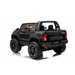 Toyota Hi-Lux Noir 12 Volts Electrique pour Enfant avec télécommande parentale Accueil HILUX/N