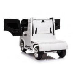 Camion container blanc, Electrique 12 volts pour enfant, fonction RC Voitures électriques enfants CONTAINER/B