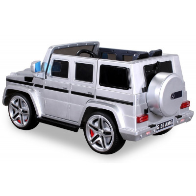 Mercedes AMG G55 Electric car For children 12 Volts Metallic Gray