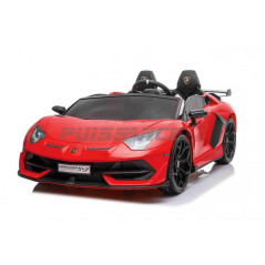 copy of Lamborghini Aventador Green 12 Volts Electric for 2-seater child with parental remote control