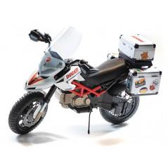 Moto Ducati style Electrique pour Enfant 12 Volts Peg-Pérego Moto electrique enfant IGMC0021