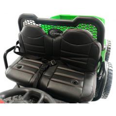 Bus VW Bulli T1 Samba Camper Rouge 2 places 12 volts Electrique pour enfant avec télécommande parentale