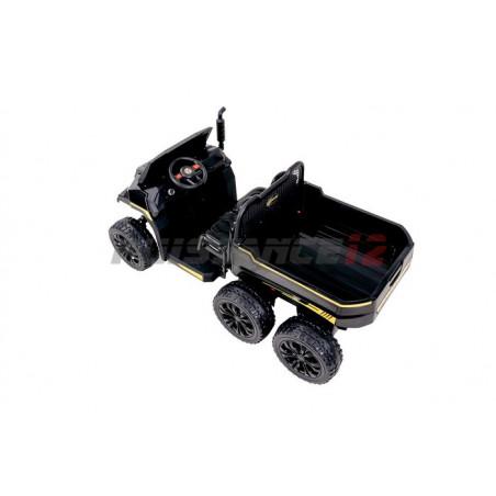 Véhicule Electrique 6x4, 24 Volts 2 places 4 roues motrices avec télécommande parentale