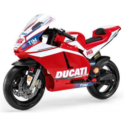 Moto Ducati GP Electrique pour Enfant 12 Volts Peg-Pérego Moto electrique enfant IGMC0020
