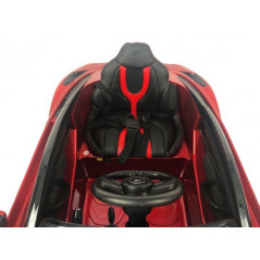 Mercedes ML350 12V Rouge Voiture électrique enfant télécommande parentale