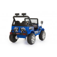 Electric 4x4 for Children 12 Volts Blue With parental remote control