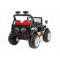 Electric 4x4 for Children 12 Volts Black With parental remote control