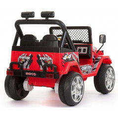 Electric 4x4 for Children 12 Volts Red With parental remote control