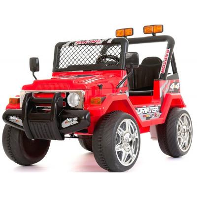 4x4 Electrique pour Enfants 12 Volts Rouge Avec télécommande parentale 4x4 électriques pour enfants  618R