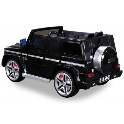 Mercedes AMG G55 Voiture électrique pour enfant 12 Volts Noire
