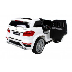 Mercedes GL63 12 Volt White Electric Child Car