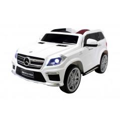 Mercedes GL63 voiture électrique enfant 12 Volts Blanche Voitures électriques enfants GL63/BL