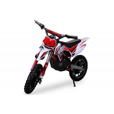 Moto-Cross Electrique pour Enfants Gazelle 500 Watts Rouge Moto electrique enfant PR000052503