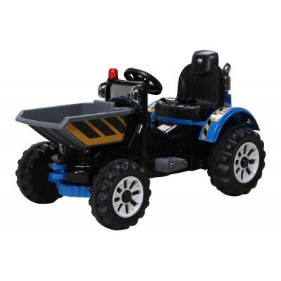 Chargeur Sur Roues Electrique Pour enfant 12 Volts Bleu Tracteurs électriques pour enfants   PR001630303