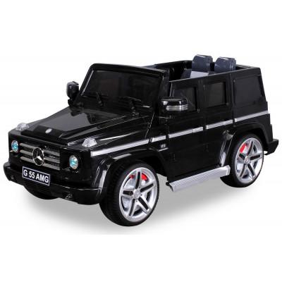 Mercedes AMG G55 Voiture électrique pour enfant 12 Volts Noire Voitures électriques enfants PR001625602