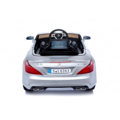 Mercedes SL63 Electric car for children 12 Volts Metallic Gray with Parental Remote