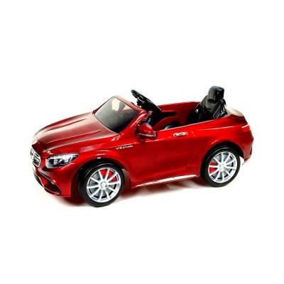 Mercedes-Benz S63 AMG Voiture électrique Pour enfant 12 Volts Rouge Métallisé Voitures électriques enfants S63RM