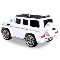 Mercedes AMG G55 Electric car For children 12 Volts White