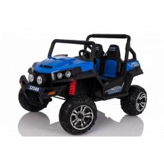 Buggy Electrique Bleu Pour enfants 4x4 2 places avec télécommande parentale 4x4 électriques pour enfants  RS12V/BLEU