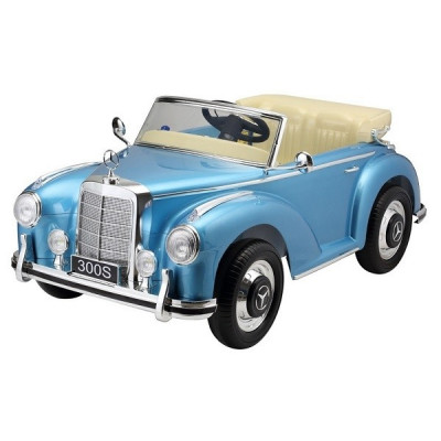 Mercedes 300S Voiture électrique Pour enfant 12 Volts Bleu métallisé Voitures électriques enfants M300S/BLEU