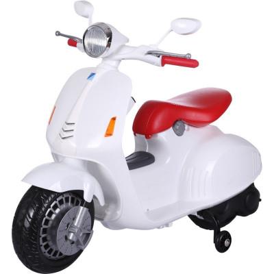 Vespa blanc Electrique 12 volts pour enfant Moto electrique enfant VESPA/B