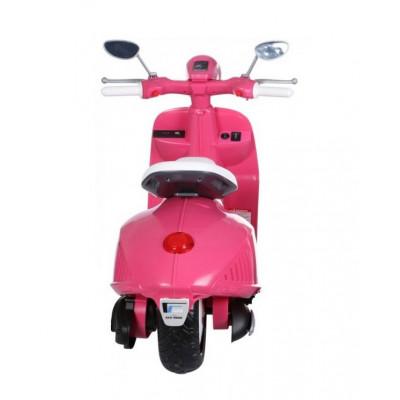 Pink Vespa Electric 12 volts for children