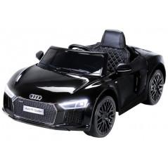 Audi R8 Spyder 12 volts voiture électrique enfant Noire avec télécommande parentale Voitures électriques enfants R8/NOIR