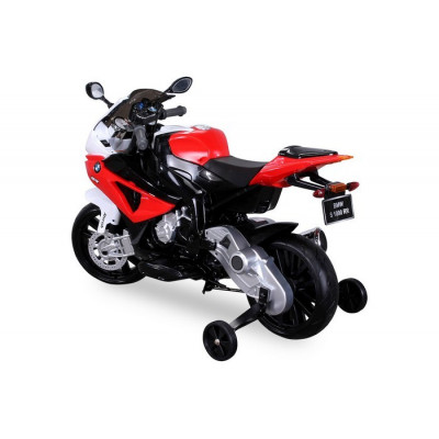 BMW S1000RR electric motorcycle for children 12 volts red / black
