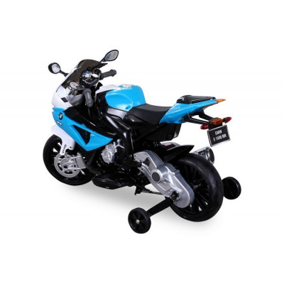 Electric motorcycle BMW S1000RR For children 12 volts blue / black