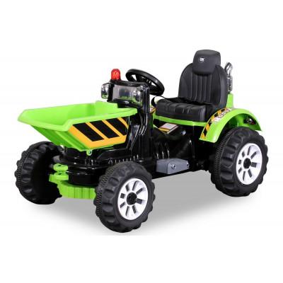 Chargeur Sur Roues Electrique Pour enfant 12 Volts Vert Tracteurs électriques pour enfants   PR001630301