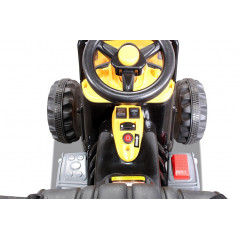 Audi Q7 voiture électrique enfant 12 Volts Noire avec télécommande parentale