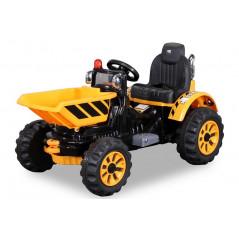 Chargeur Sur Roues Electrique Pour enfant 12 Volts Jaune Tracteurs électriques pour enfants  PR001630302