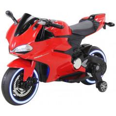 Moto Electrique 12 Volts rouge pour enfant Moto electrique enfant MOT1299SS/R