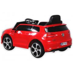 Golf GTI Voiture électrique Pour enfant 12 Volts Rouge